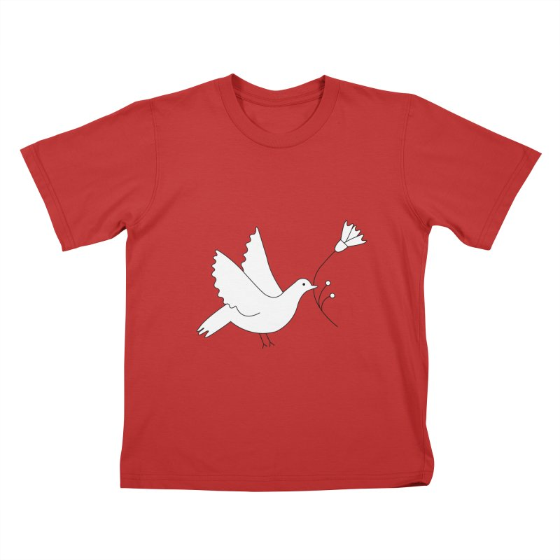 Bird Kids T-Shirt by ivvch's Artist Shop