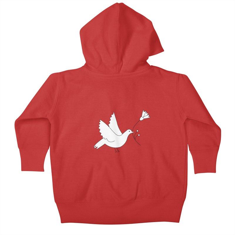 Bird Kids Baby Zip-Up Hoody by ivvch's Artist Shop