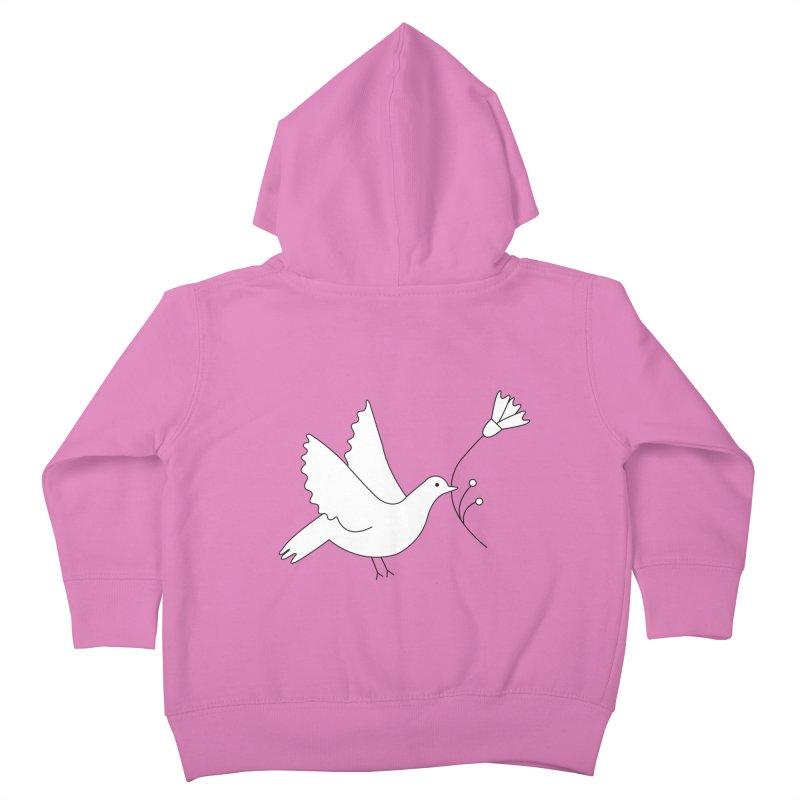 Bird Kids Toddler Zip-Up Hoody by ivvch's Artist Shop