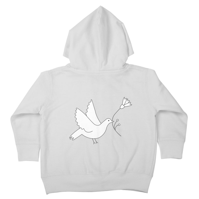 Bird Kids Toddler Zip-Up Hoody by ivvch's Artist Shop