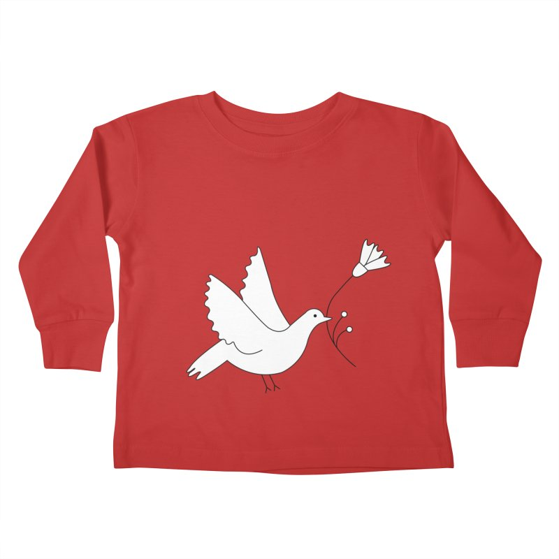 Bird Kids Toddler Longsleeve T-Shirt by ivvch's Artist Shop
