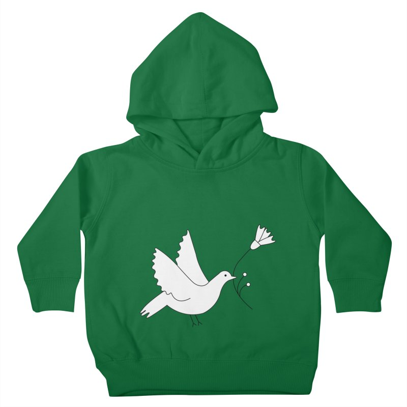 Bird Kids Toddler Pullover Hoody by ivvch's Artist Shop