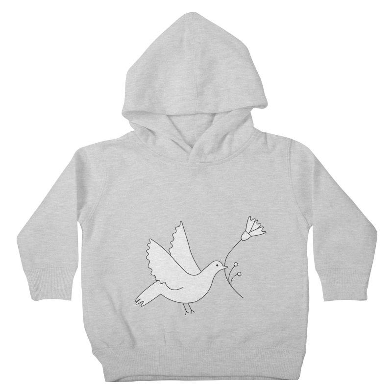 Bird Kids Toddler Pullover Hoody by ivvch's Artist Shop