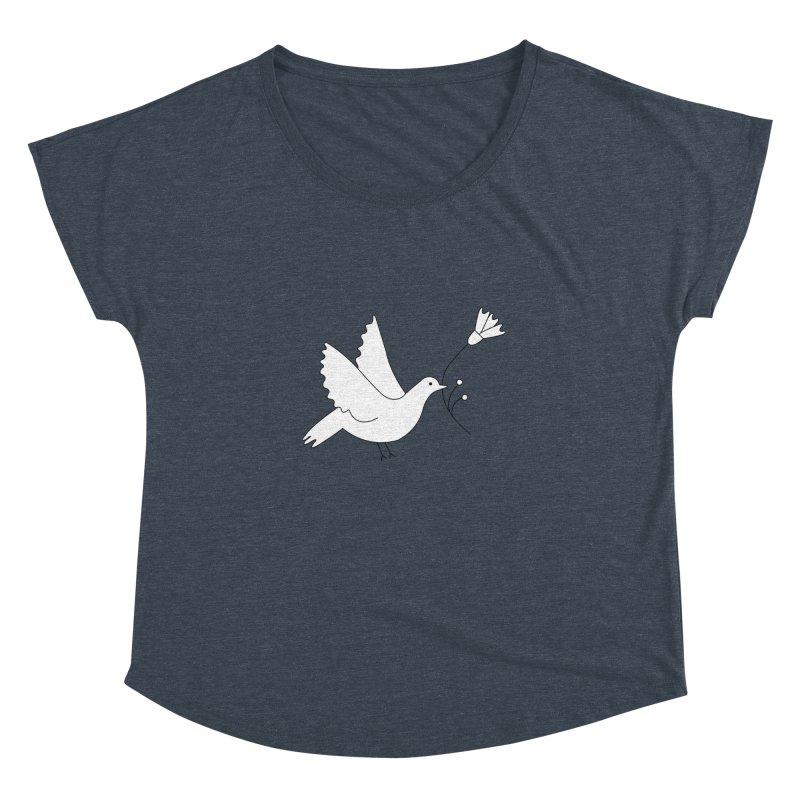 Bird Women's Dolman Scoop Neck by ivvch's Artist Shop