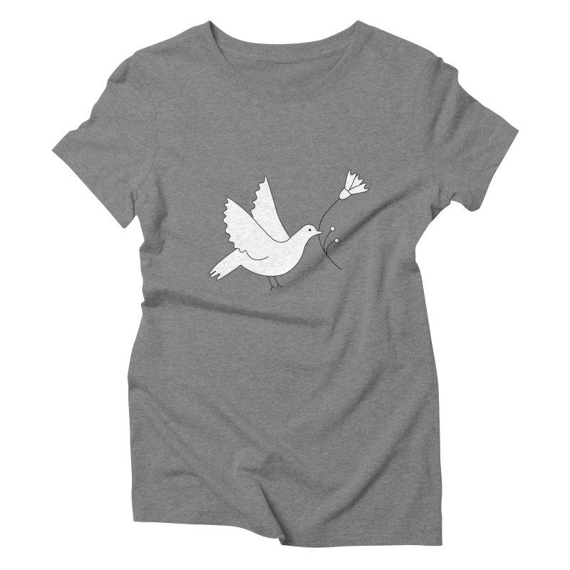 Bird Women's Triblend T-Shirt by ivvch's Artist Shop