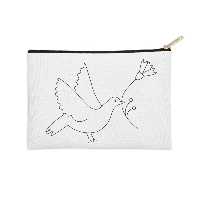 Bird Accessories Zip Pouch by ivvch's Artist Shop