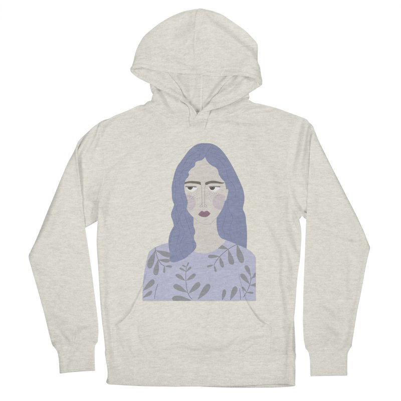 Girl Women's French Terry Pullover Hoody by ivvch's Artist Shop