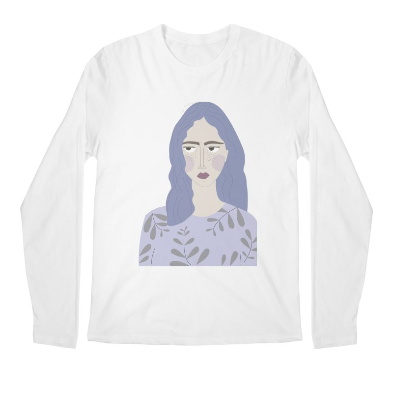 Girl Men's Regular Longsleeve T-Shirt by ivvch's Artist Shop