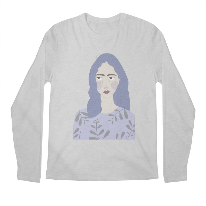 Girl Men's Longsleeve T-Shirt by ivvch's Artist Shop