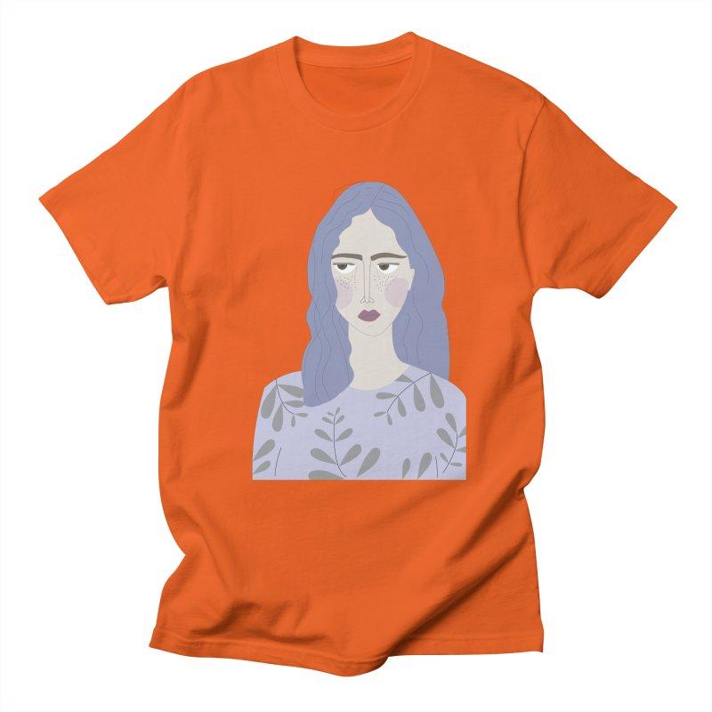 Girl Women's Regular Unisex T-Shirt by ivvch's Artist Shop