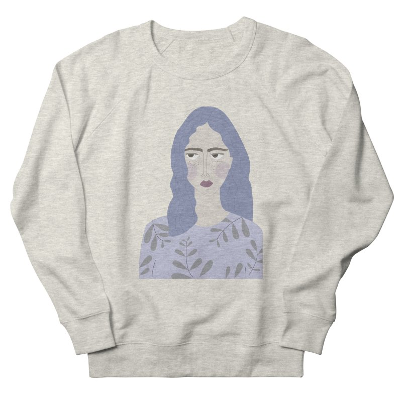 Girl Men's French Terry Sweatshirt by ivvch's Artist Shop