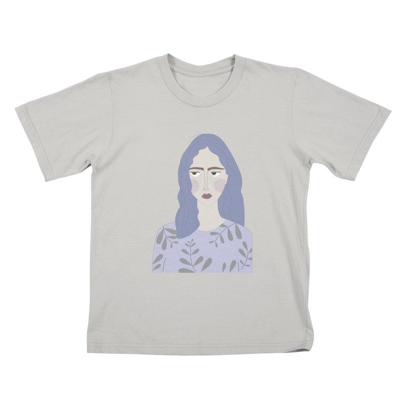 Girl Kids T-shirt by ivvch's Artist Shop