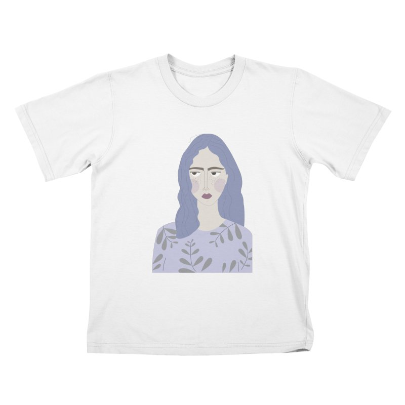 Girl Kids T-Shirt by ivvch's Artist Shop