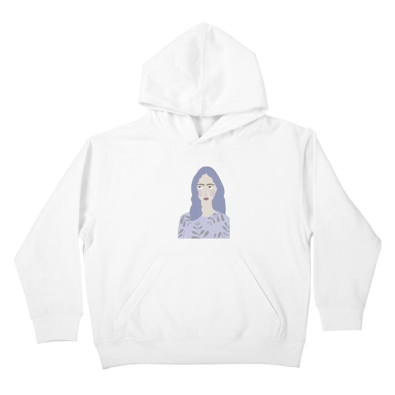 Girl Kids Pullover Hoody by ivvch's Artist Shop