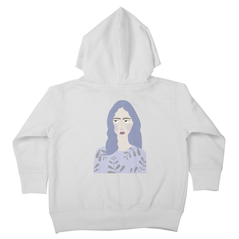 Girl Kids Toddler Zip-Up Hoody by ivvch's Artist Shop