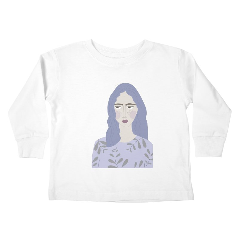Girl Kids Toddler Longsleeve T-Shirt by ivvch's Artist Shop