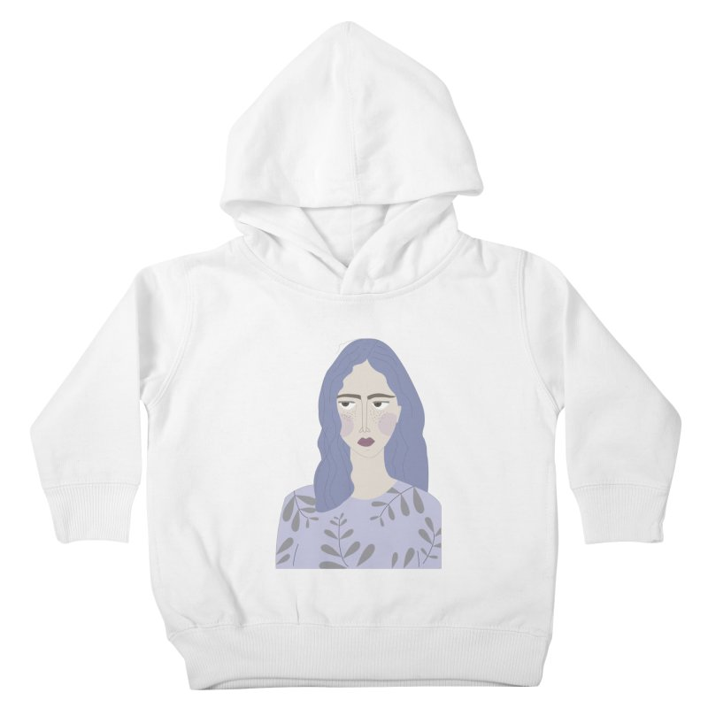 Girl Kids Toddler Pullover Hoody by ivvch's Artist Shop