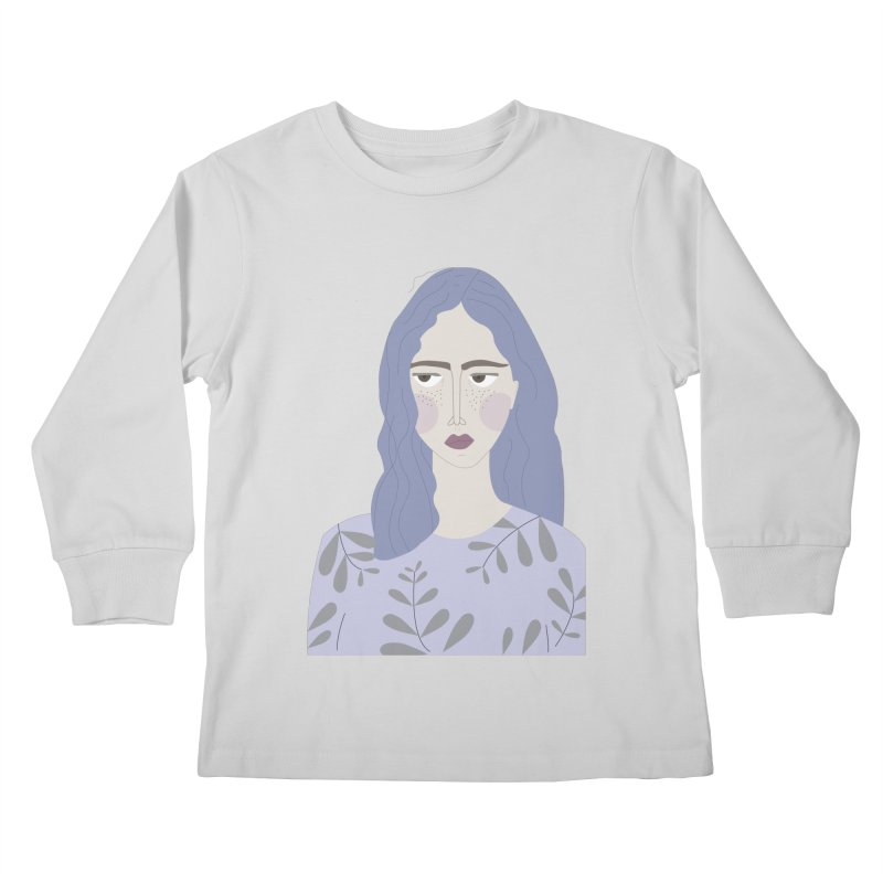 Girl Kids Longsleeve T-Shirt by ivvch's Artist Shop