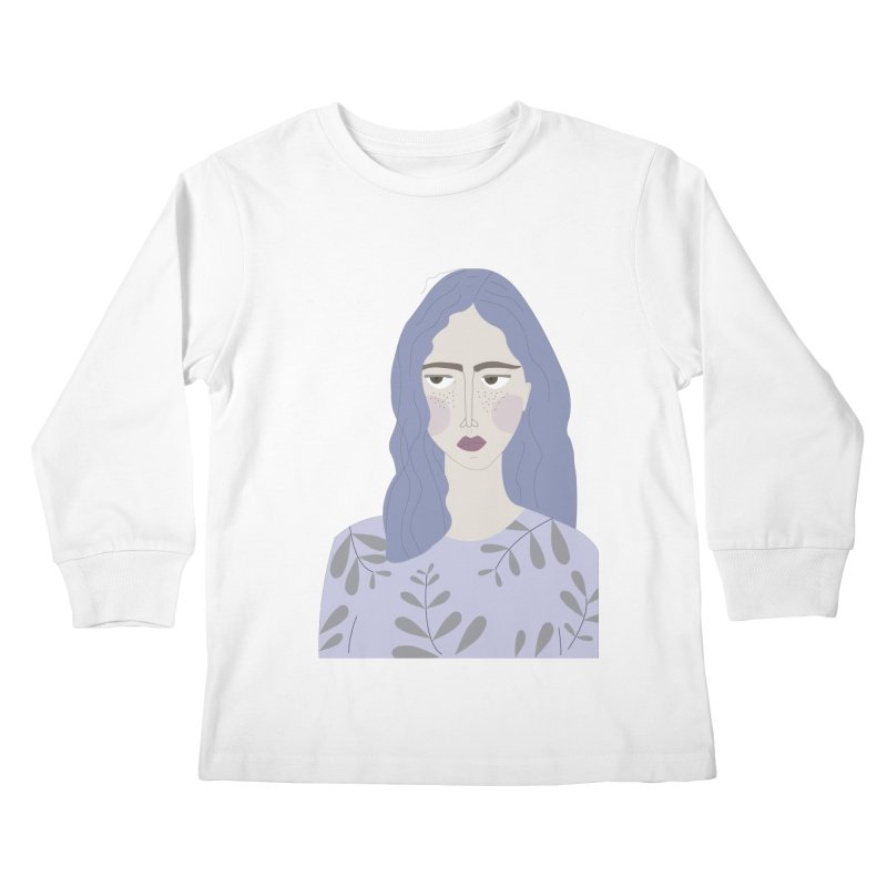 Girl Kids Longsleeve T-Shirt by ivvch's Artist Shop