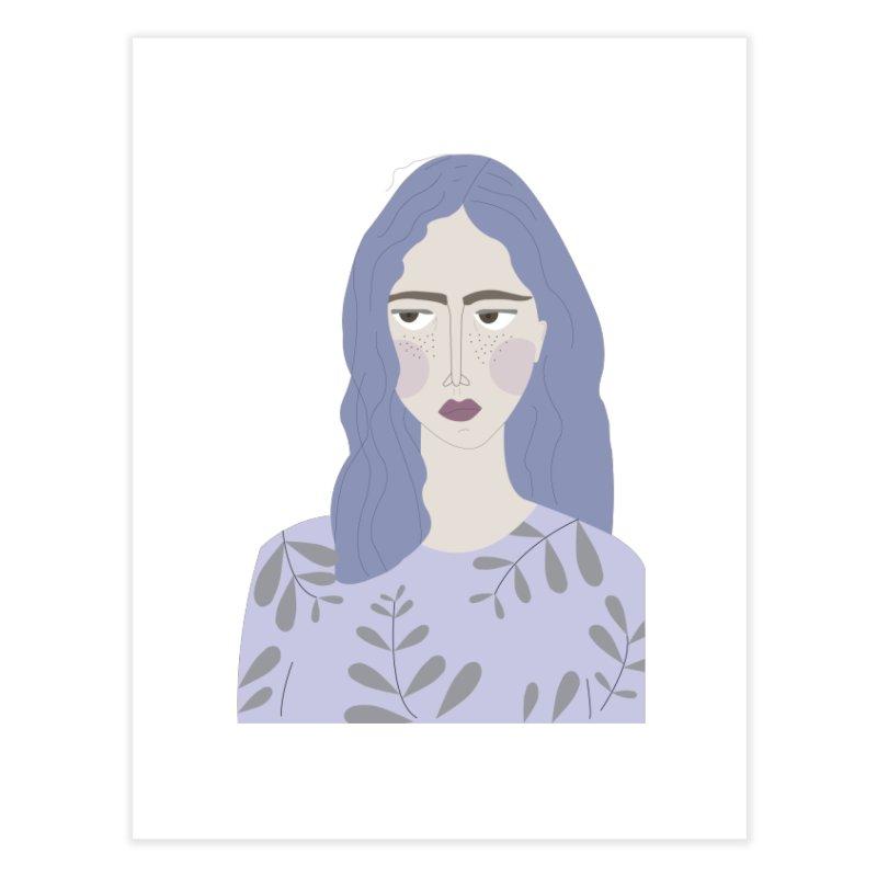 Girl Home Fine Art Print by ivvch's Artist Shop