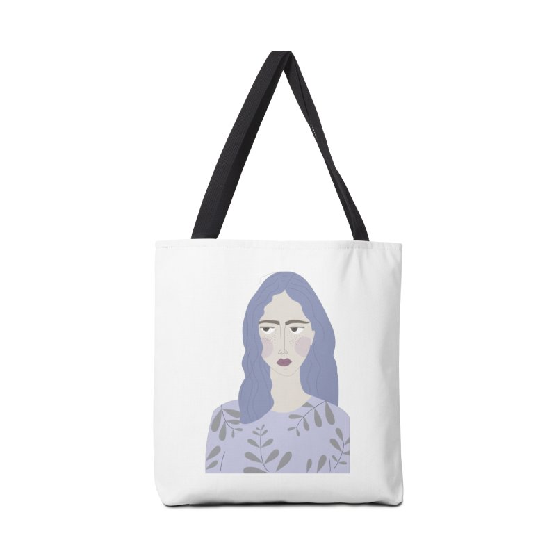 Girl Accessories Tote Bag Bag by ivvch's Artist Shop