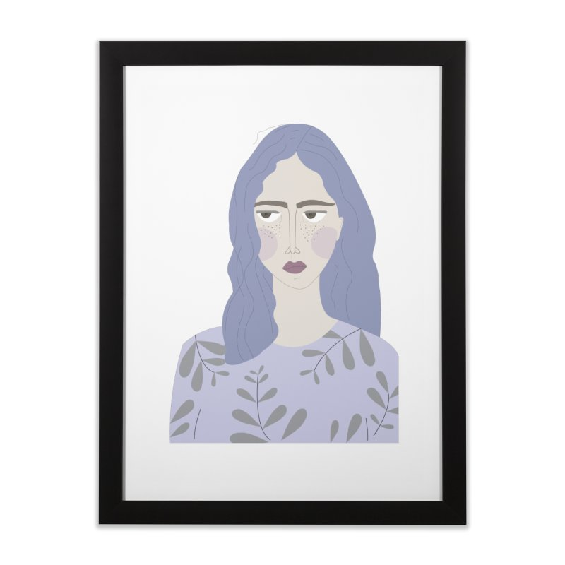 Girl Home Framed Fine Art Print by ivvch's Artist Shop
