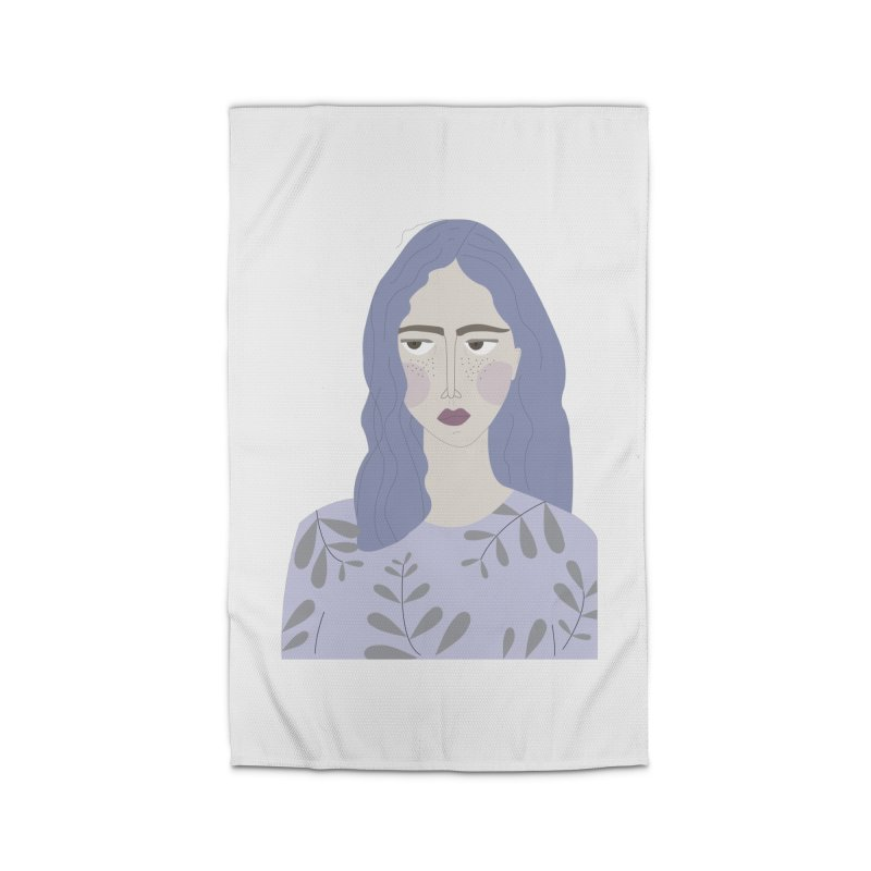 Girl Home Rug by ivvch's Artist Shop