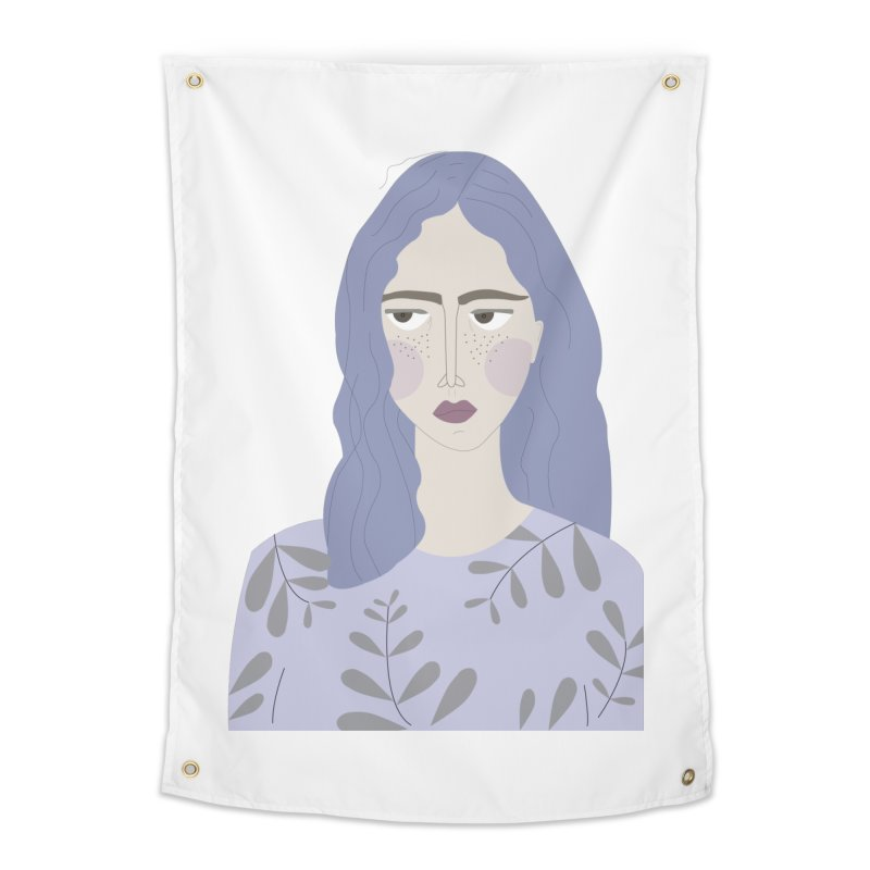 Girl Home Tapestry by ivvch's Artist Shop
