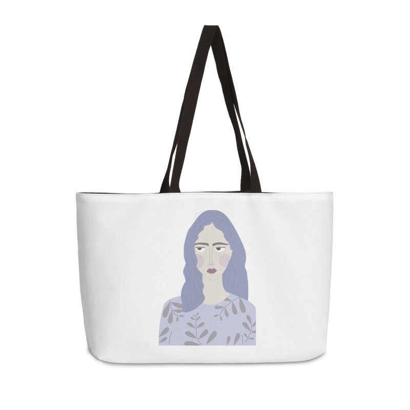 Girl Accessories Weekender Bag Bag by ivvch's Artist Shop