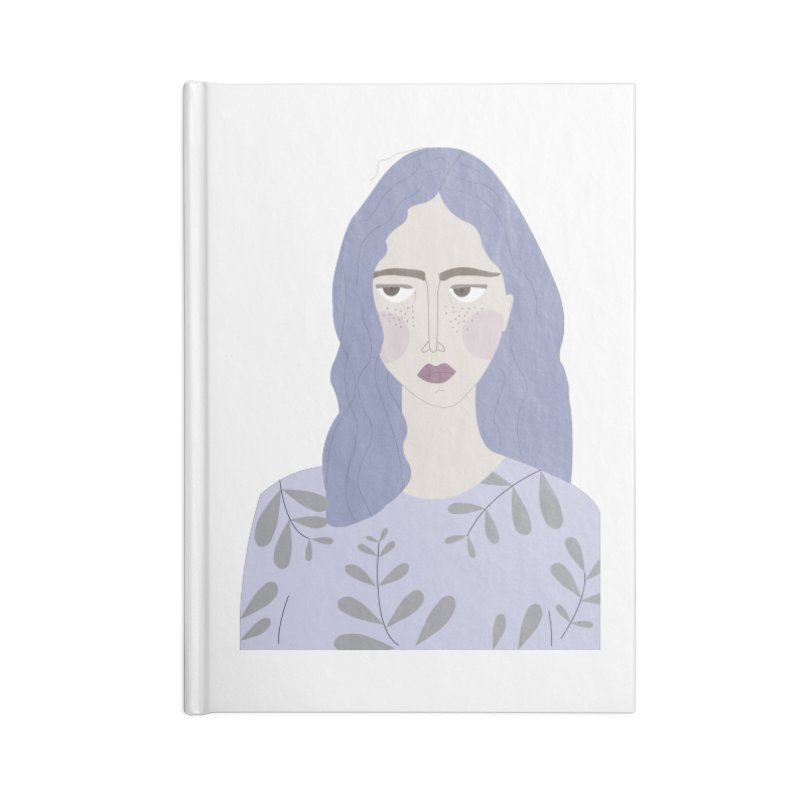 Girl Accessories Notebook by ivvch's Artist Shop