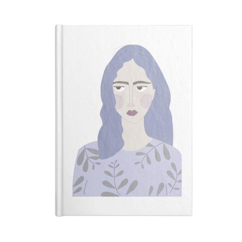 Girl Accessories Blank Journal Notebook by ivvch's Artist Shop