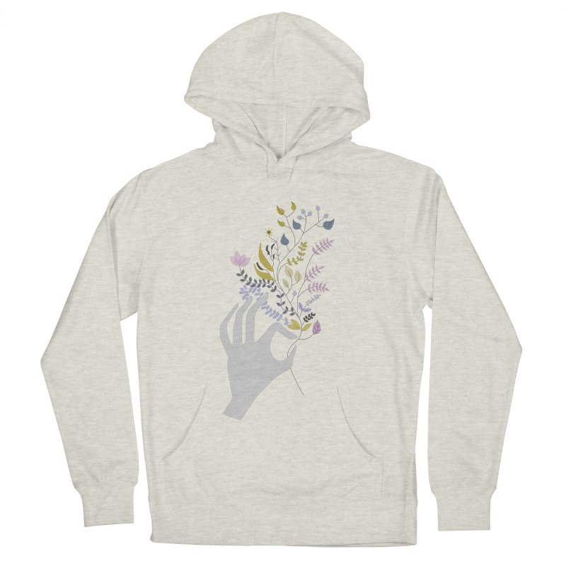 Spring Women's French Terry Pullover Hoody by ivvch's Artist Shop