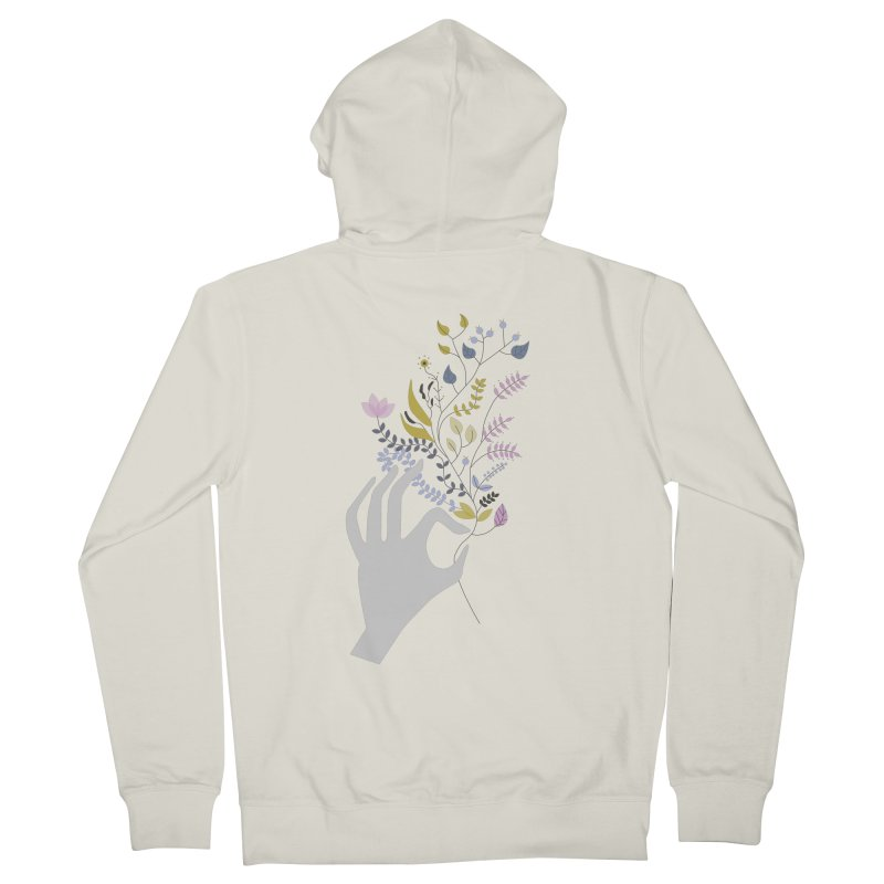 Spring Women's French Terry Zip-Up Hoody by ivvch's Artist Shop
