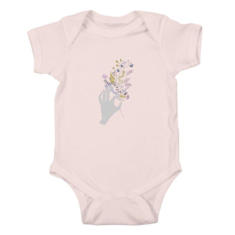 Spring Kids Baby Bodysuit by ivvch's Artist Shop