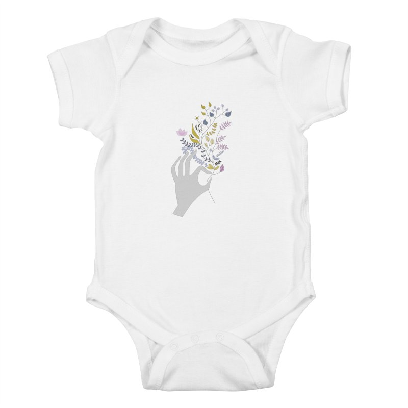 Spring Kids Baby Bodysuit by ivvch's Artist Shop