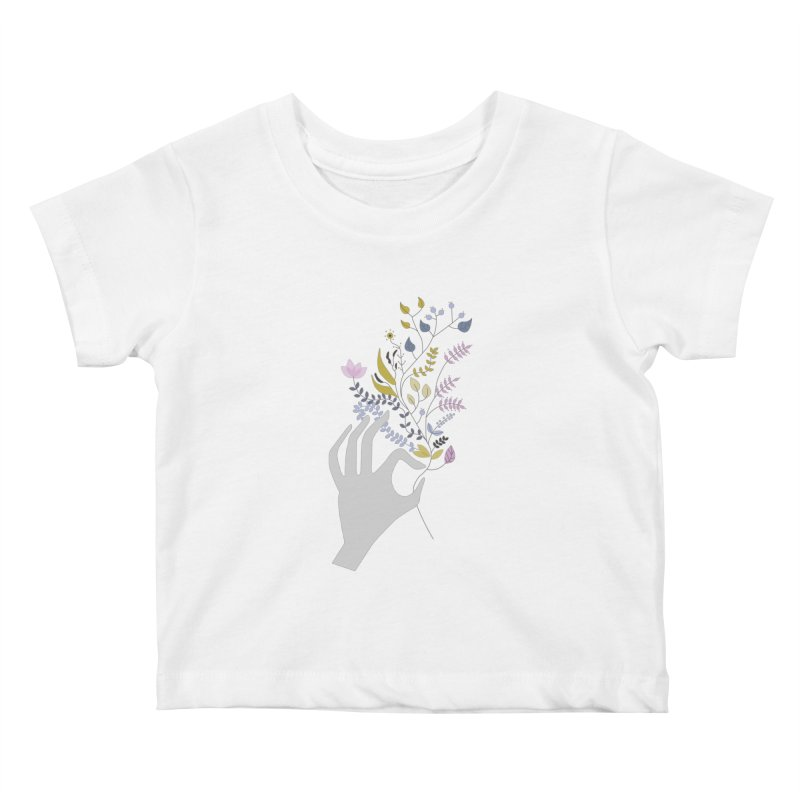 Spring Kids Baby T-Shirt by ivvch's Artist Shop
