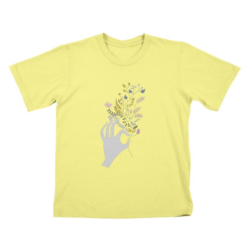 Spring Kids T-shirt by ivvch's Artist Shop