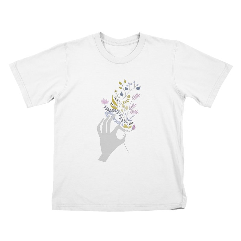 Spring Kids T-Shirt by ivvch's Artist Shop