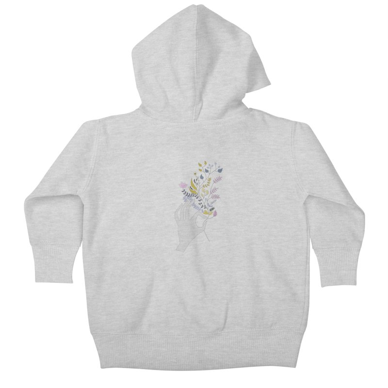 Spring Kids Baby Zip-Up Hoody by ivvch's Artist Shop