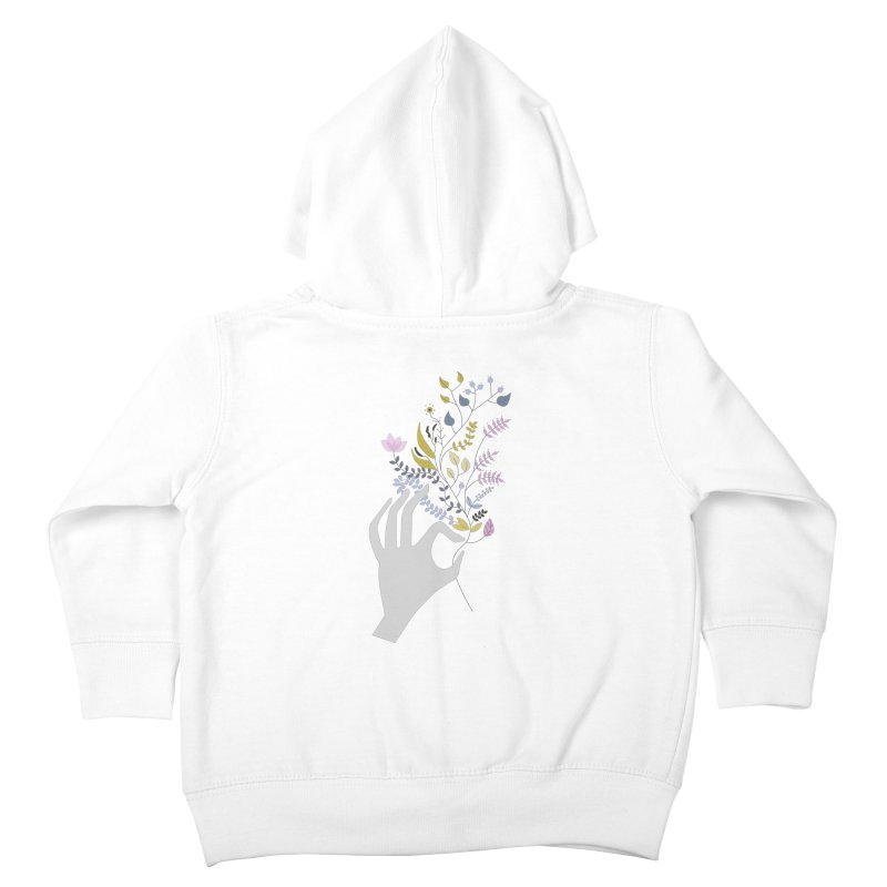 Spring Kids Toddler Zip-Up Hoody by ivvch's Artist Shop
