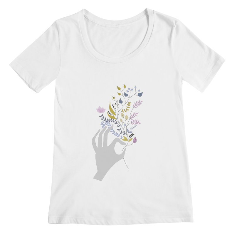 Spring Women's Scoopneck by ivvch's Artist Shop