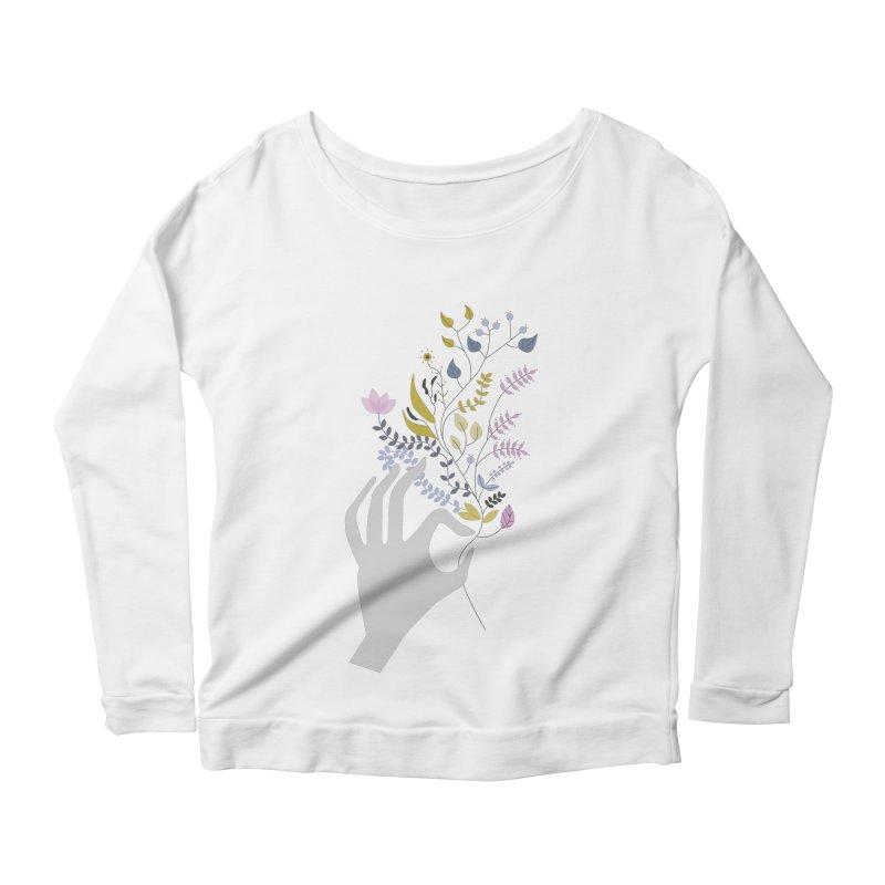 Spring Women's Longsleeve Scoopneck  by ivvch's Artist Shop