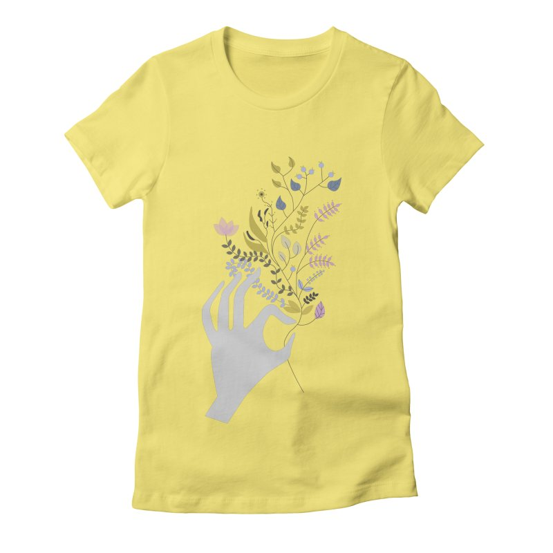 Spring Women's Fitted T-Shirt by ivvch's Artist Shop
