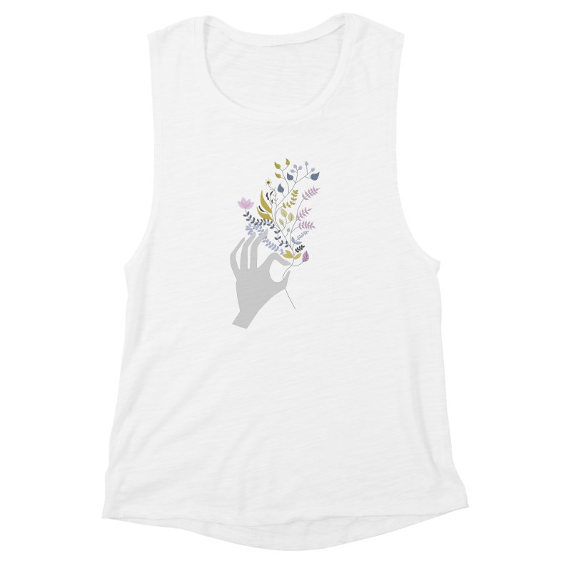 Spring Women's Muscle Tank by ivvch's Artist Shop