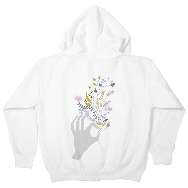 Spring Kids Zip-Up Hoody by ivvch's Artist Shop