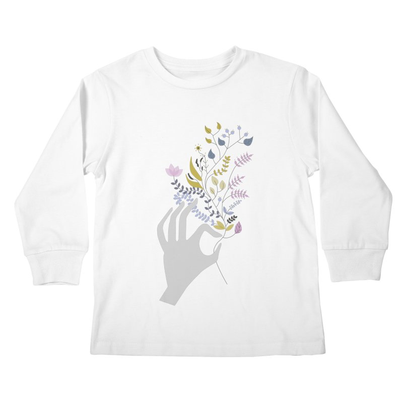 Spring Kids Longsleeve T-Shirt by ivvch's Artist Shop