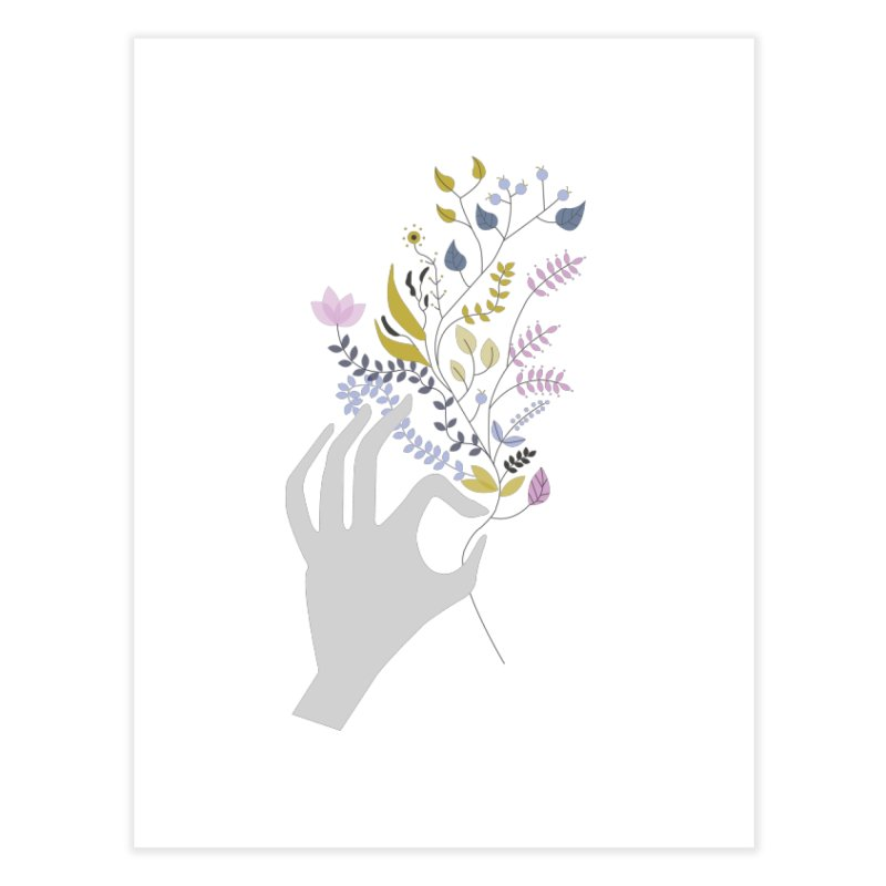 Spring Home Fine Art Print by ivvch's Artist Shop