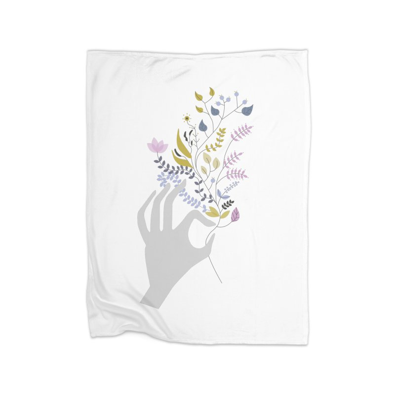 Spring Home Blanket by ivvch's Artist Shop
