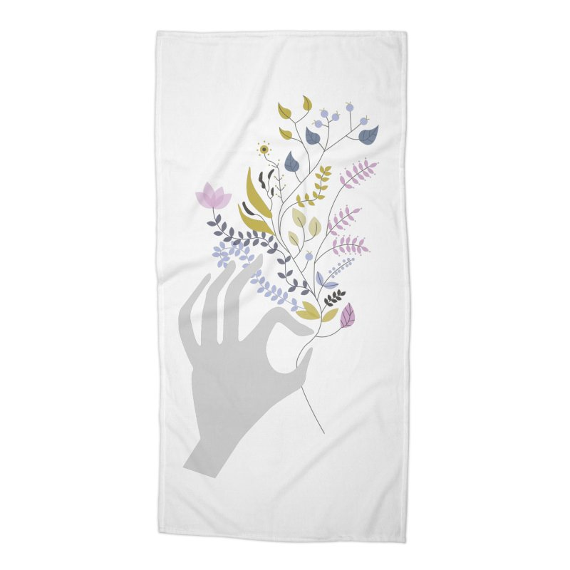 Spring Accessories Beach Towel by ivvch's Artist Shop
