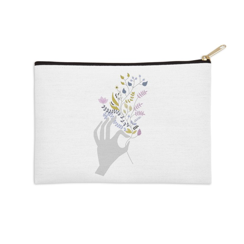 Spring Accessories Zip Pouch by ivvch's Artist Shop